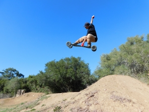 To me...this is mountainboarding