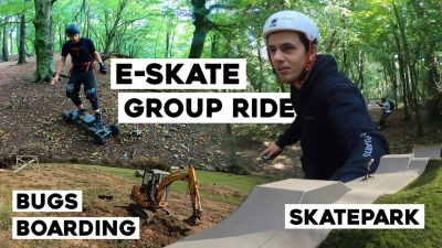 VLOGGED: Randwick Group Ride & Bugs Boarding AirBag Delivery