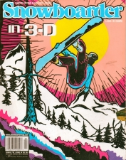 Aug '99 issue of Snowboarder Mag