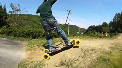 "JINGI Mountainboard - chapter 2 - ""Battles"""