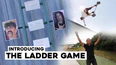THE LADDER - Mountainboarding trick game