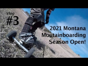 Mountainboard Vlog #3 | First runs of 2021
