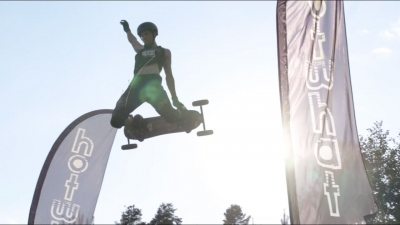 CROSSCALL AT MOUNTAINBOARD WORLD CHAMPIONSHIPS SLOVENIA