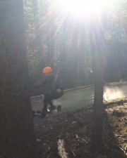 Dusty Mountain Trail