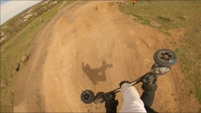 Full run at Golden Bike Park