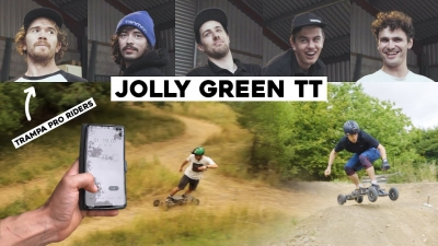 THE JOLLY GREEN TT!! *ESK8/EBOARD RACE*