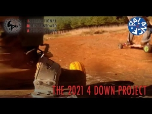 """""""It's all downhill from here"""" South African 4 Down Project"""