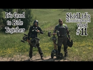 The Friends We Make Along the Way | SkidLid's Mountainboard vlog #11