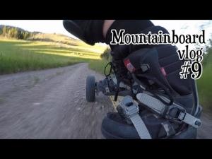 SkidLid's Mountainboard vlog #9