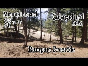 Mountainboard vlog #6 part 3 | Coloradical 2021 | Rampart Freeride